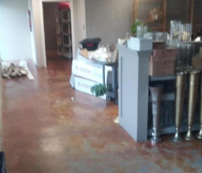 Commercial Water Damage from Storm