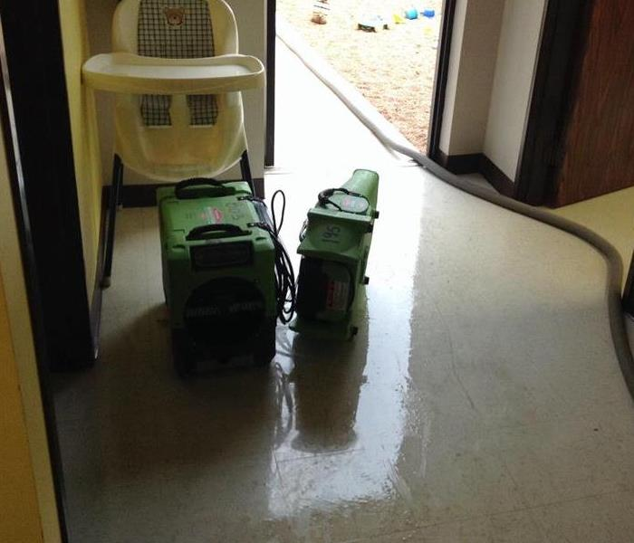 Water Cleanup In Home