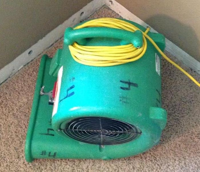 Air Mover In Use