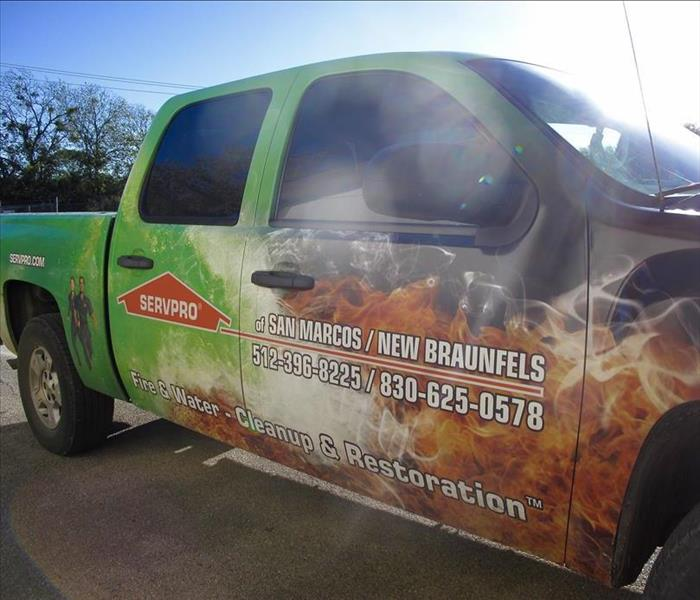 General For Immediate Service in San Marcos/New Braunfels Area, call SERVPRO